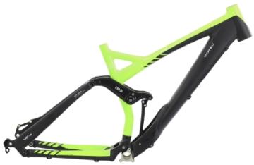 fietsframe en onderdelen